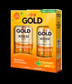 Kit Especial Niely Gold Nutrição Mágica Shampoo 300ml + Condicionador 200ml