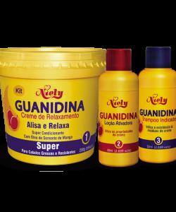 Kit Guanidina Creme Relaxante - Super Niely