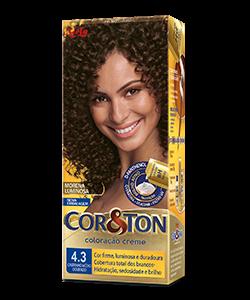 Castanho Médio Dourado 4.3 Cor&Ton