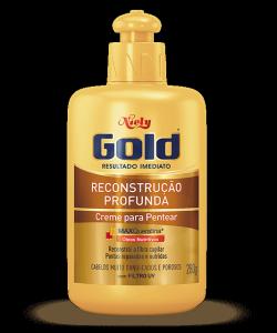 Creme para Pentear Niely Gold Reconstrução Profunda 280g