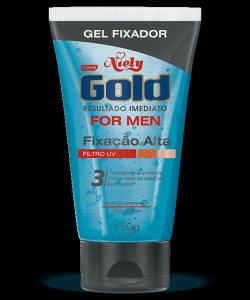 Gel Niely Gold For Men Fixação Alta 150g