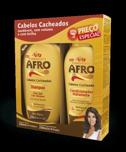 Kit Especial Niely Permanente Afro Shampoo 300ml + Condicionador 200ml