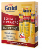 Bomba de Reparação Niely Gold 3 ampolas de 15ml