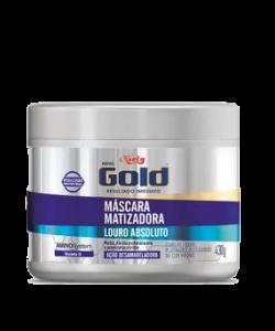 Máscara Matizadora Niely Gold Louro Absoluto 430g