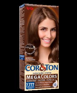 Mega Colors Louro Marrom Intenso 7.777