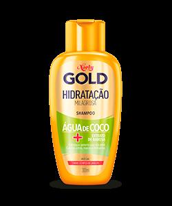 Shampoo Niely Gold Hidratação Milagrosa