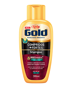 Shampoo Compridos + Fortes 300ML
