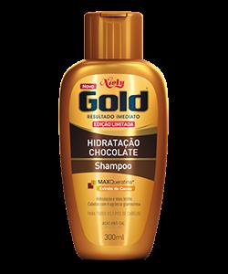 Shampoo sem sal Niely Gold Hidratação Chocolate 300ml