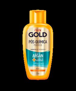 Shampoo Niely Gold Pós-Química Poderoso