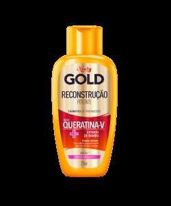 Shampoo Niely Gold Reconstrução Potente 300ml