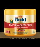 Máscara Concentrada Niely Gold Queratina Reparação 430g