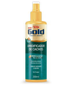 Umidificador de Cachos Niely Gold 200ml