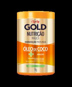 Máscara Concentrada Niely Gold Nutrição Mágica