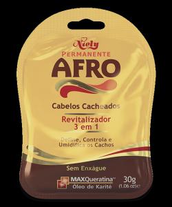 Revitalizador 3 em 1 Niely Permanente Afro 30g