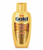 Shampoo Sem Sal Niely Gold Reconstrução Profunda 300ml
