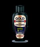 Shampoo Cabelo & Barba Niely Gold Homem