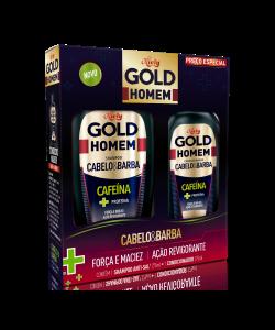 Kit Especial Niely Gold Homem Shampoo Sem Sal 300ml + Condicionador 200ml