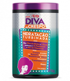 Hidratação Turbinada Diva de Crespo 1KG