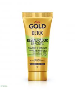 Restaurador De Pontas Niely Gold Detox Limão + Chá Verde 50g