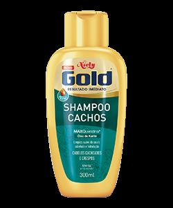 Shampoo sem sal Niely Gold Cachos 300ml
