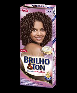 Chocolate Intenso 4.77 Brilho&Ton Coloração Sem Amônia