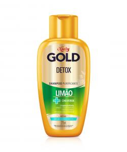 Shampoo Niely Gold Detox Limão + Chá Verde 275ml