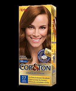 Marrom Dourado 7.7 Cor&Ton