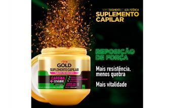 Creme de tratamento Pró-Crescimento Niely Gold Suplemento Capilar 800G